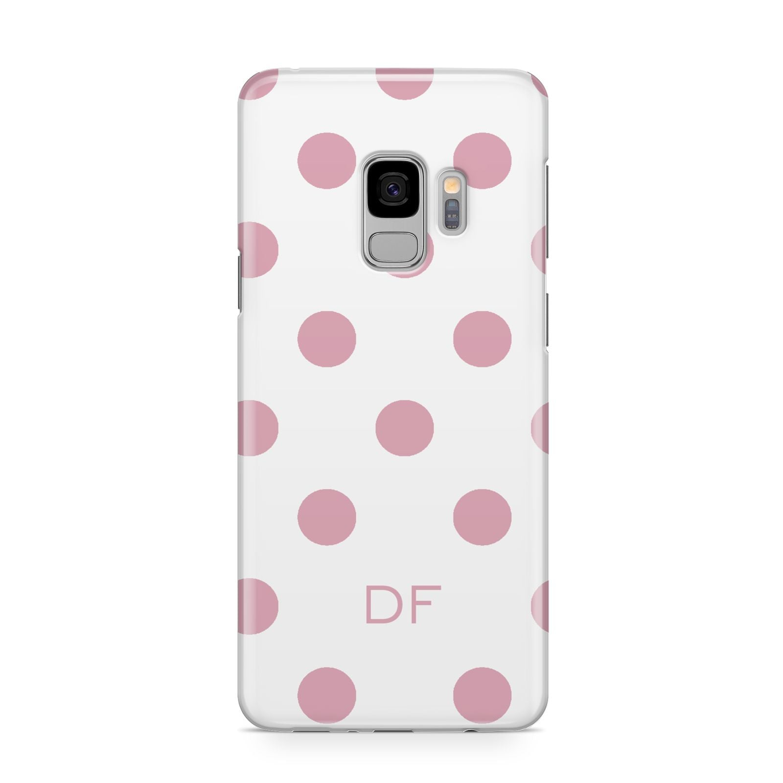 Dots Initials Personalised Samsung Galaxy S9 Case
