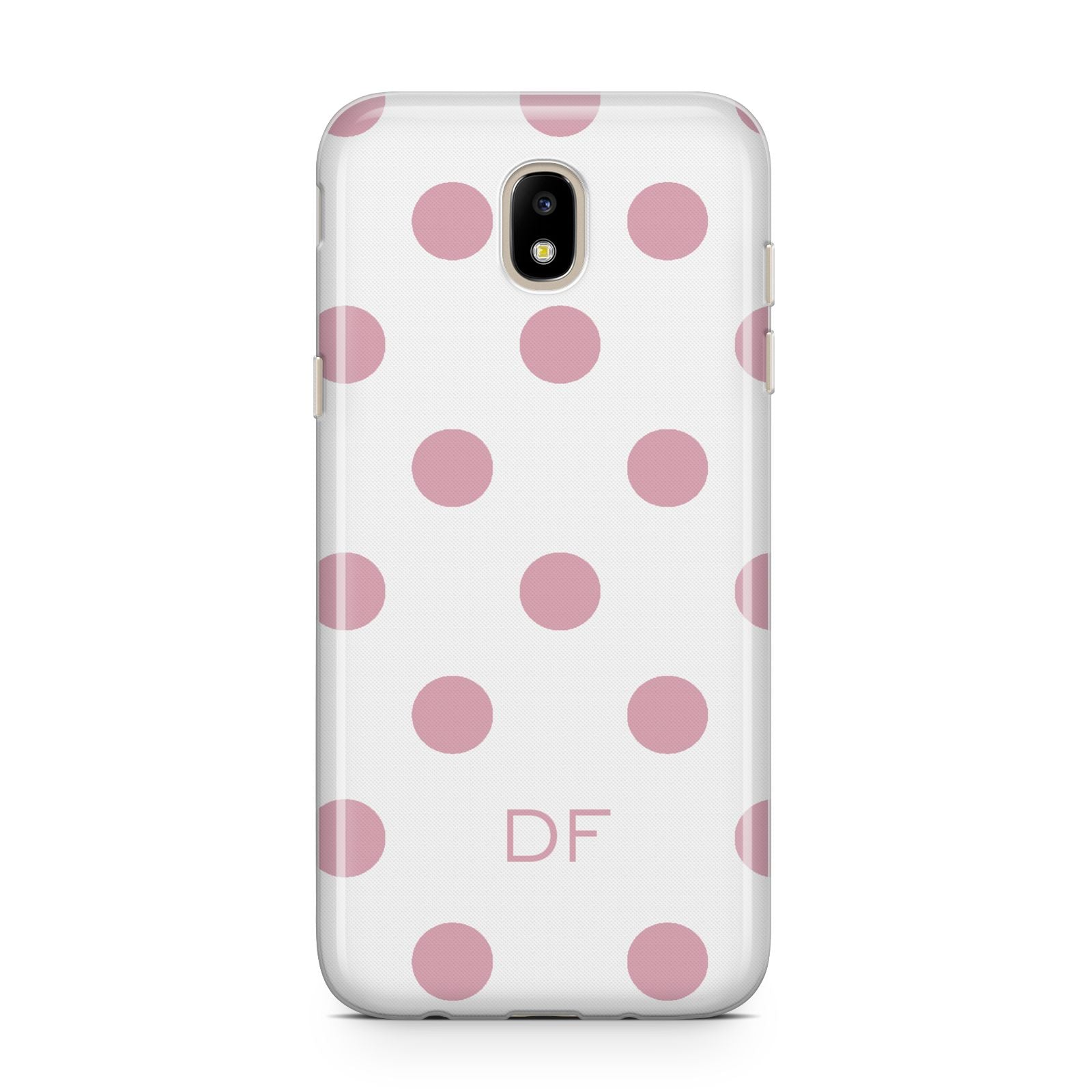 Dots Initials Personalised Samsung J5 2017 Case