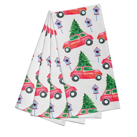 Driving home for Christmas Napkins
