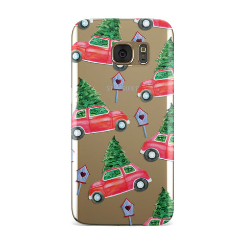 Driving home for Christmas Samsung Galaxy Case