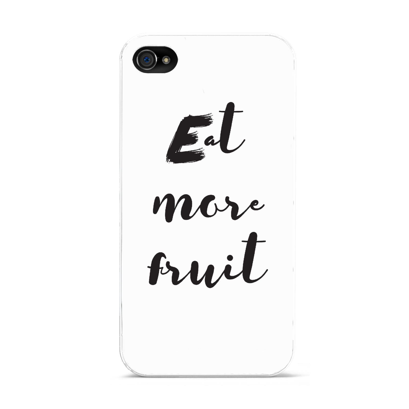 Eat More Fruit Apple iPhone 4s Case