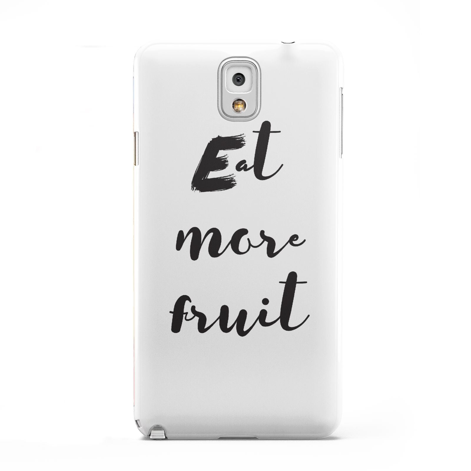 Eat More Fruit Samsung Galaxy Note 3 Case
