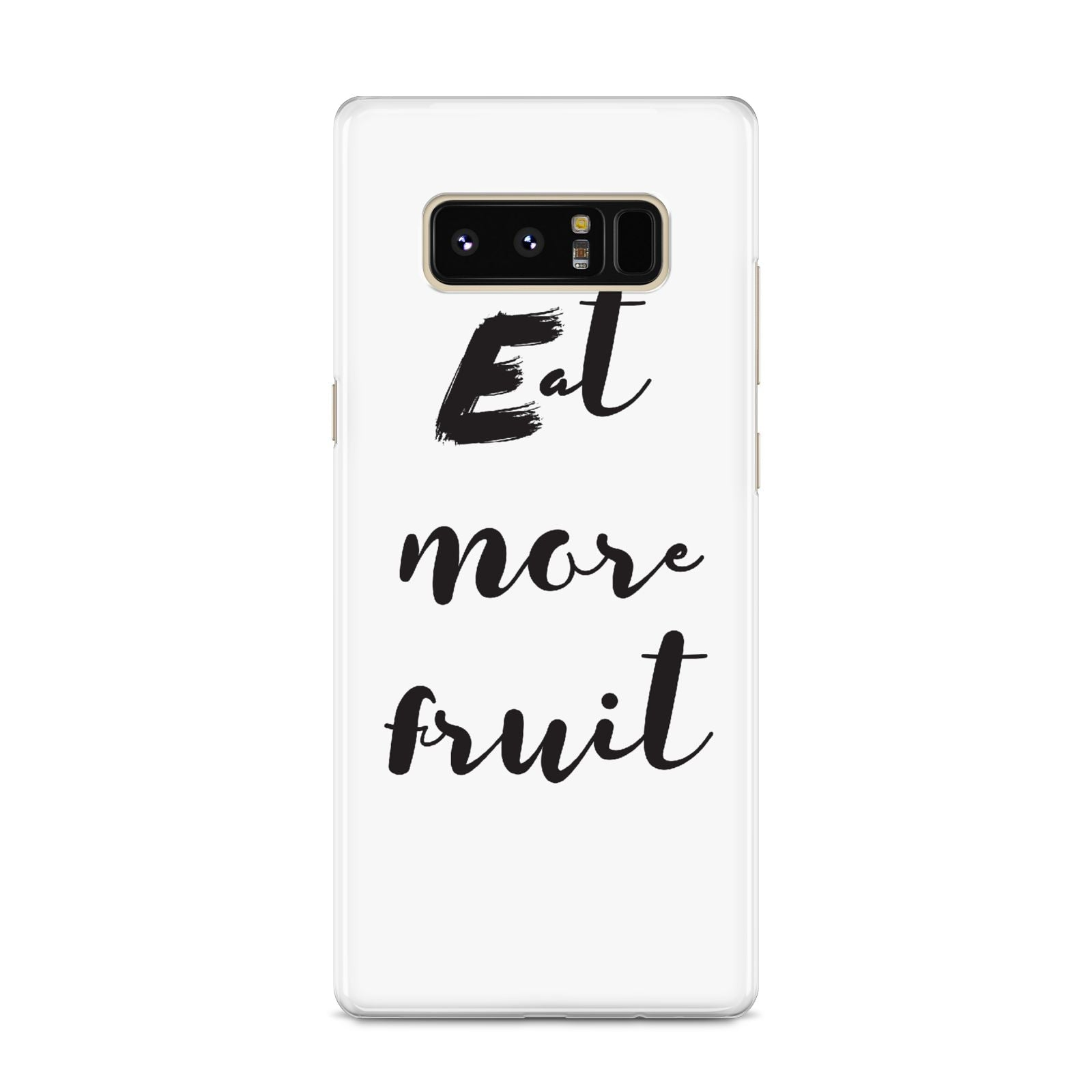 Eat More Fruit Samsung Galaxy S8 Case