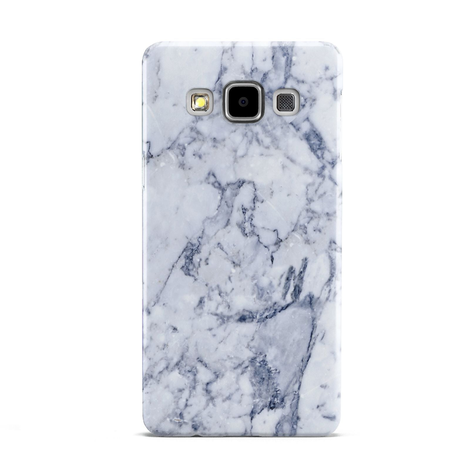 Faux Marble Blue Grey White Samsung Galaxy A5 Case