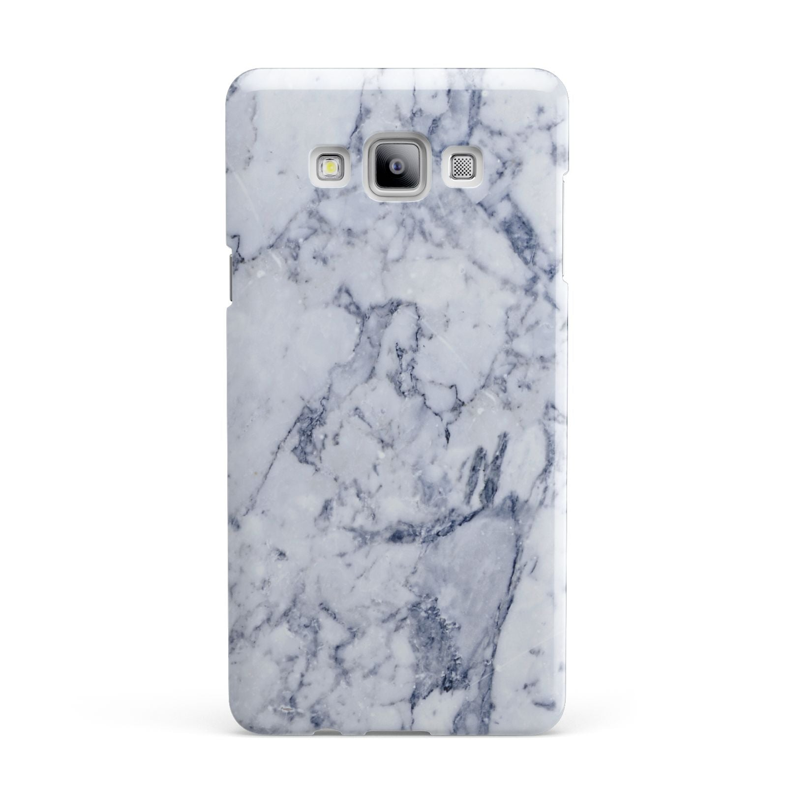 Faux Marble Blue Grey White Samsung Galaxy A7 2015 Case