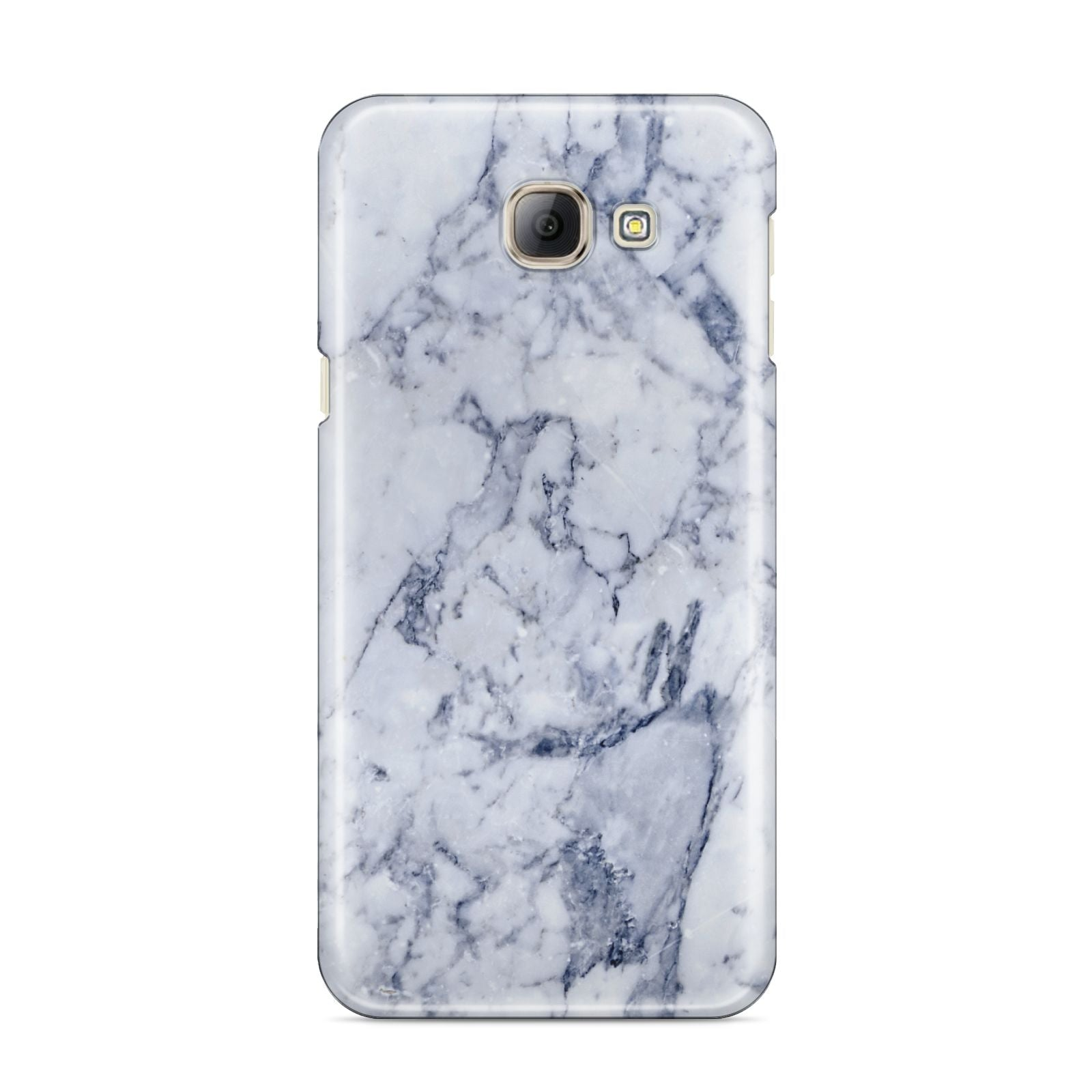 Faux Marble Blue Grey White Samsung Galaxy A8 2016 Case