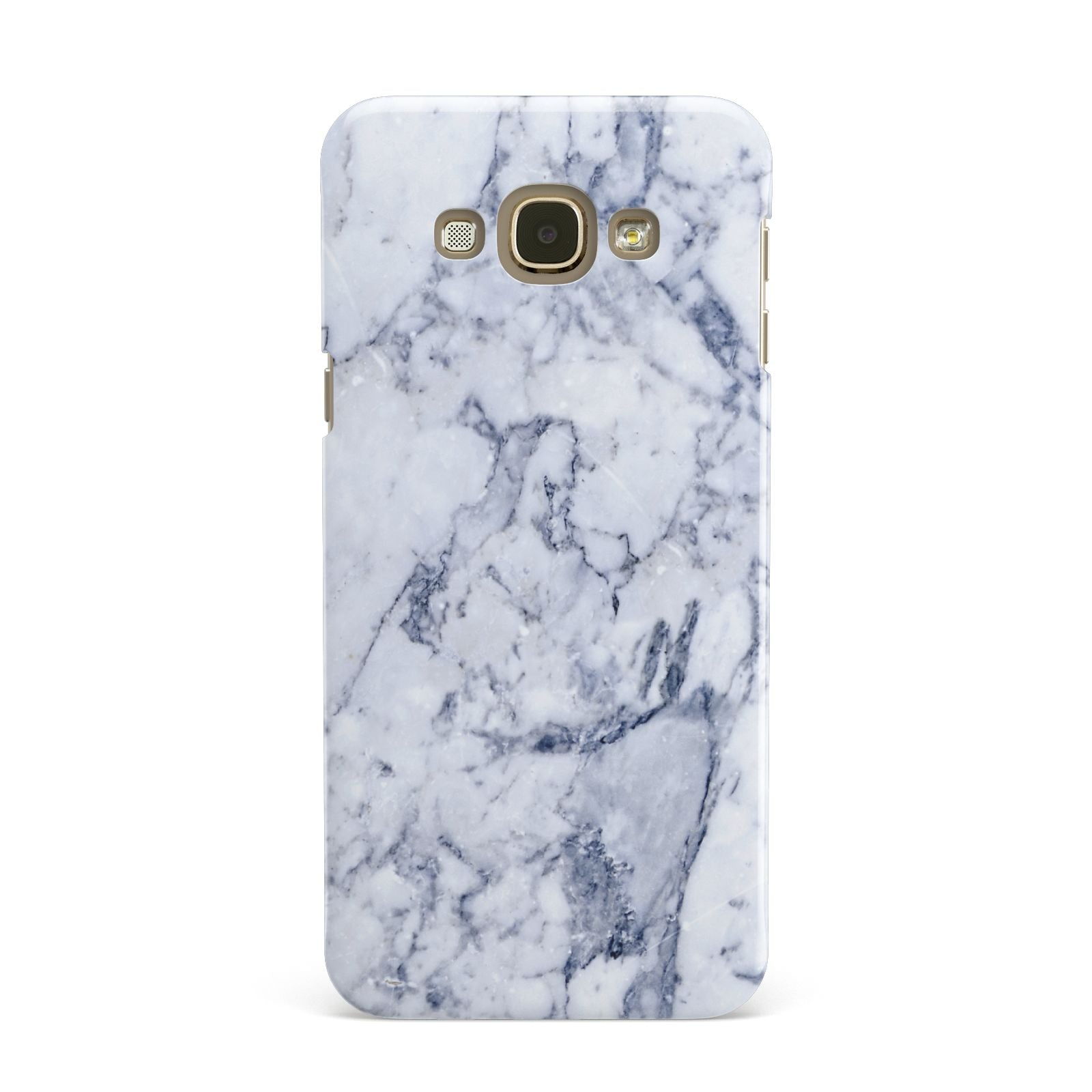 Faux Marble Blue Grey White Samsung Galaxy A8 Case