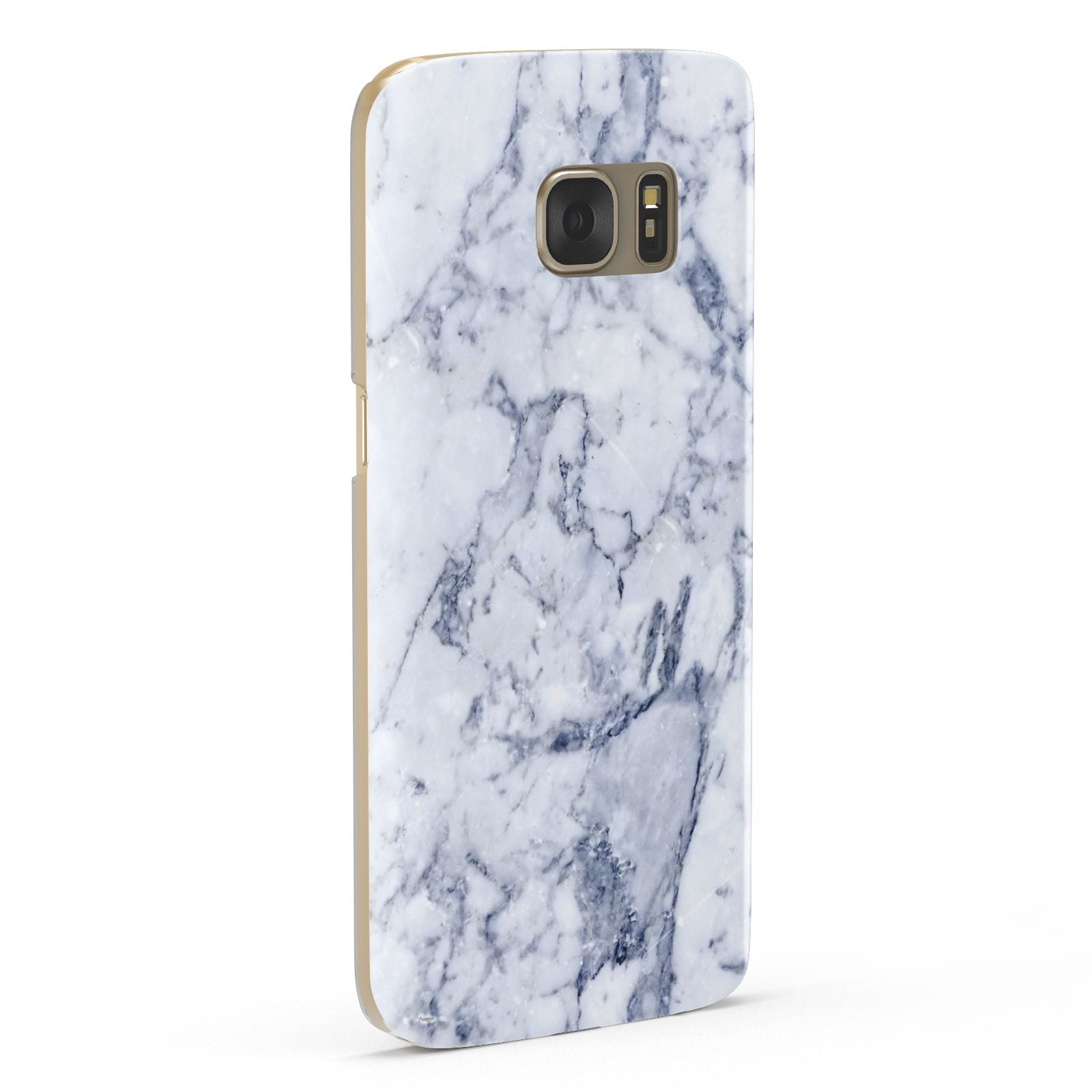 Faux Marble Blue Grey White Samsung Galaxy Case Fourty Five Degrees