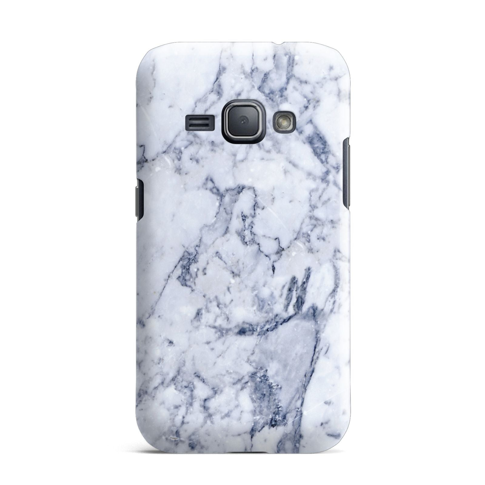 Faux Marble Blue Grey White Samsung Galaxy J1 2016 Case