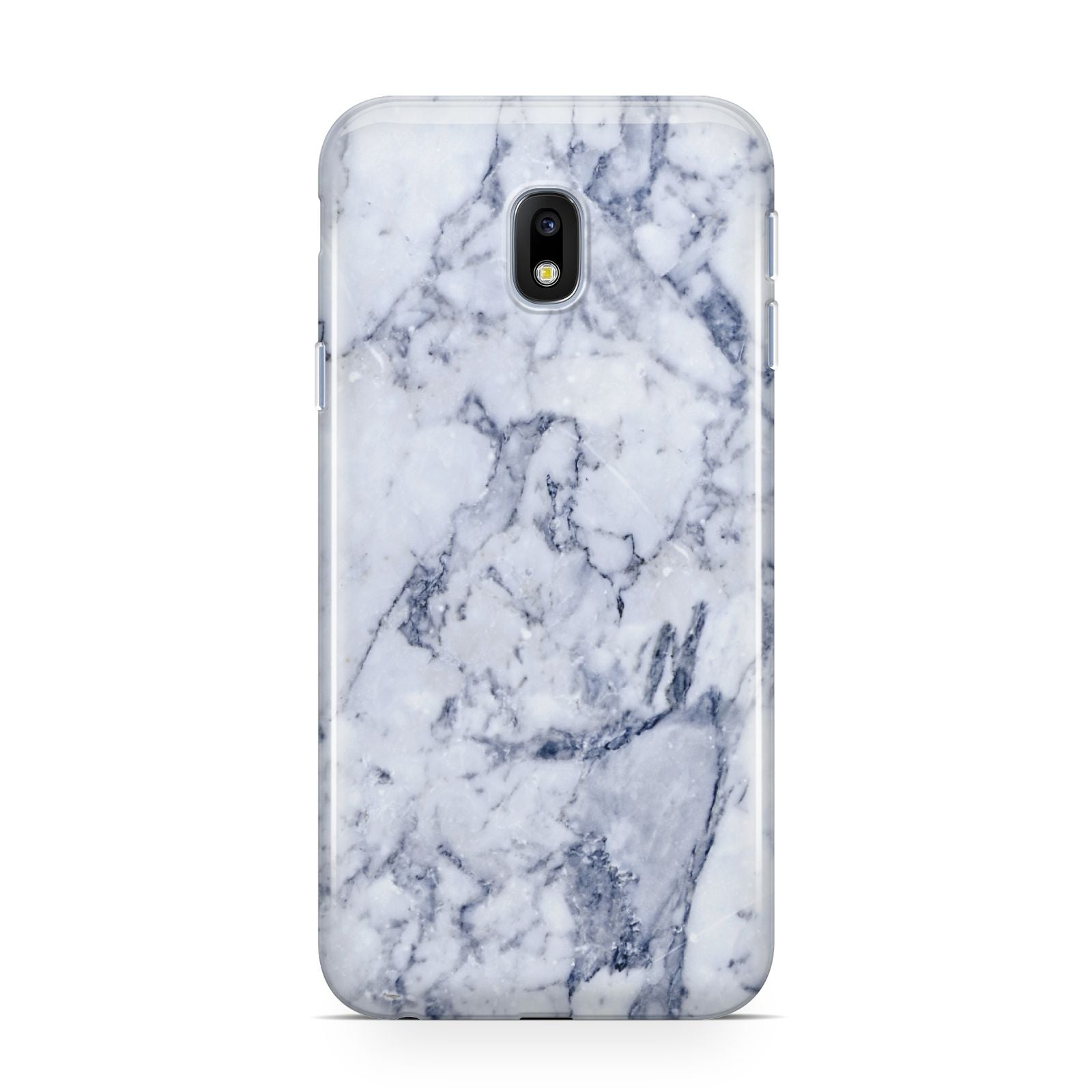 Faux Marble Blue Grey White Samsung Galaxy J3 2017 Case
