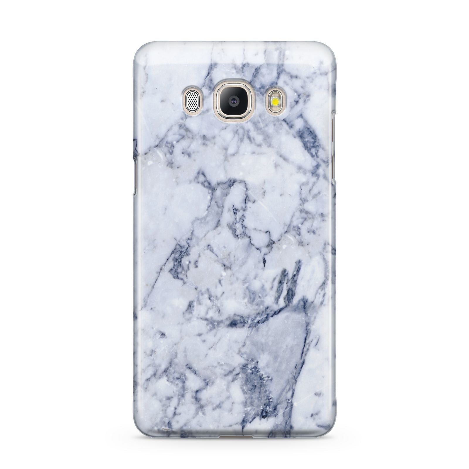 Faux Marble Blue Grey White Samsung Galaxy J5 2016 Case