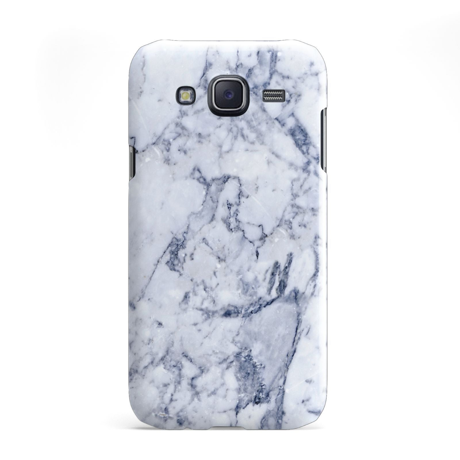 Faux Marble Blue Grey White Samsung Galaxy J5 Case