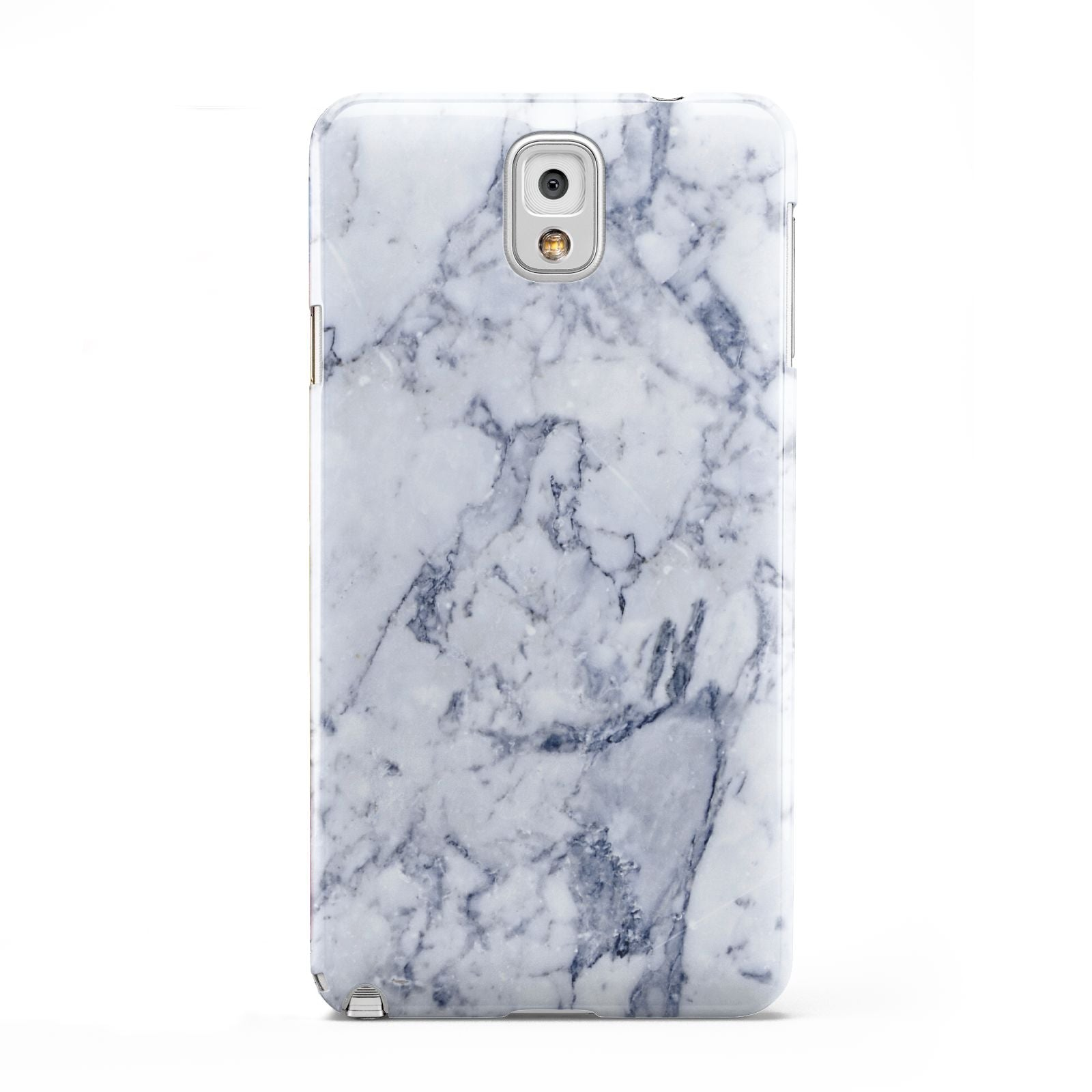 Faux Marble Blue Grey White Samsung Galaxy Note 3 Case