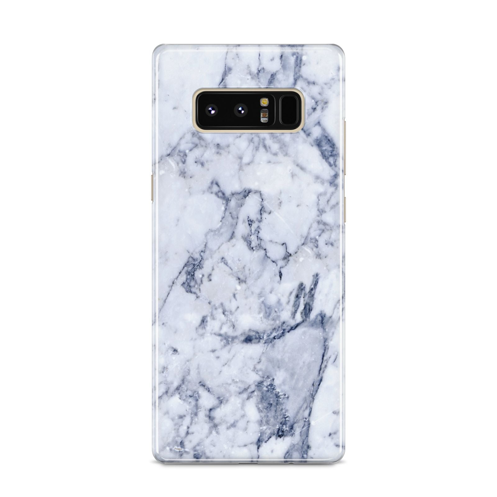 Faux Marble Blue Grey White Samsung Galaxy S8 Case