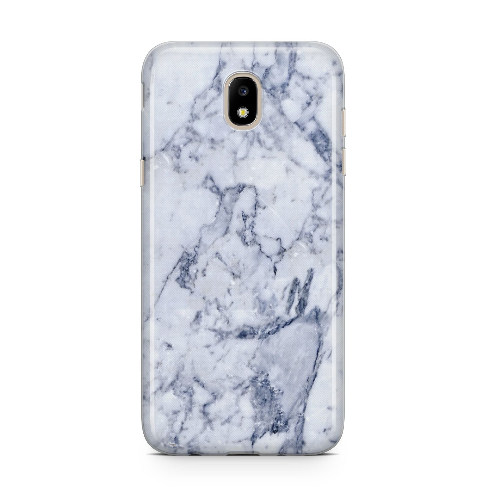 Faux Marble Blue Grey White Samsung J5 2017 Case