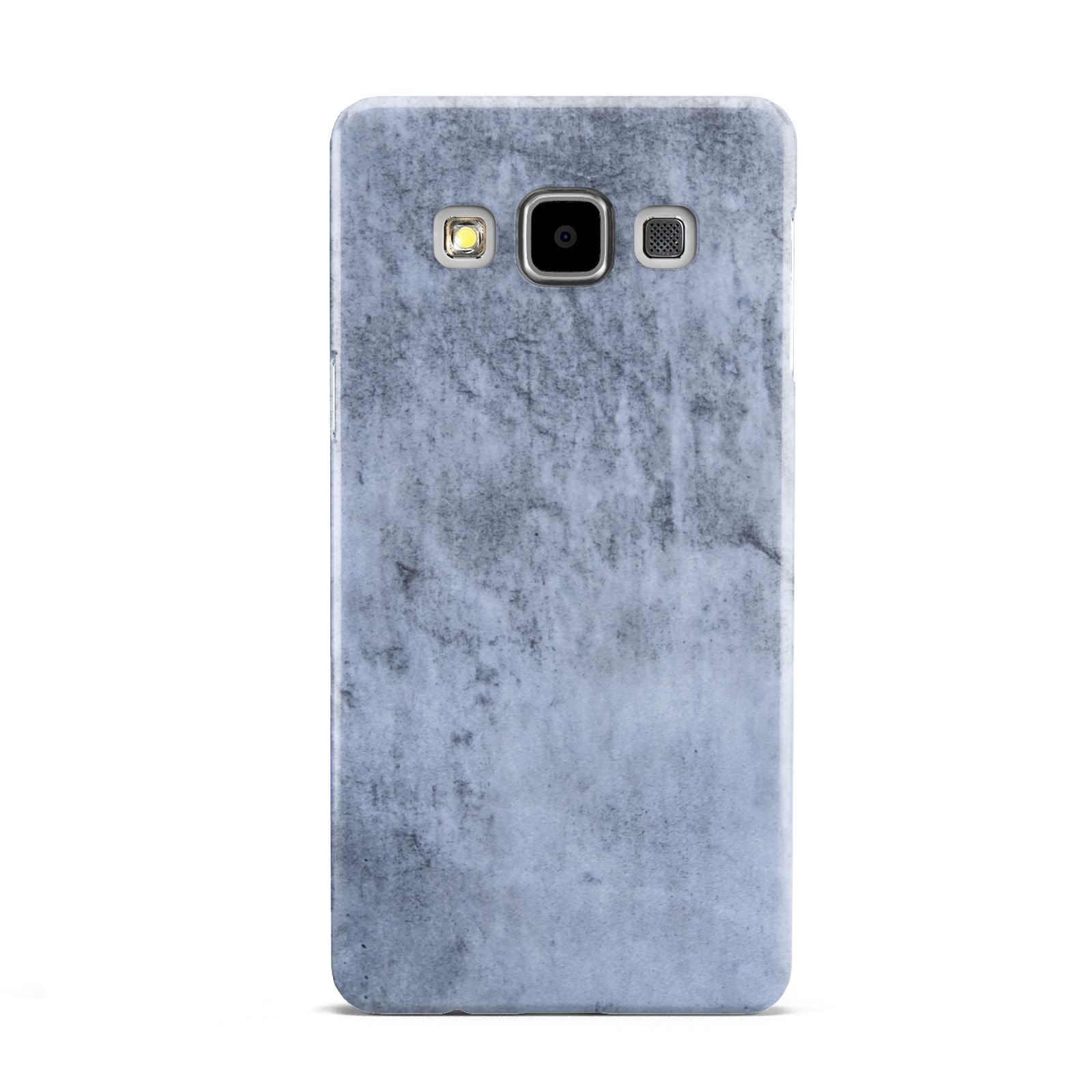 Faux Marble Dark Grey Samsung Galaxy A5 Case