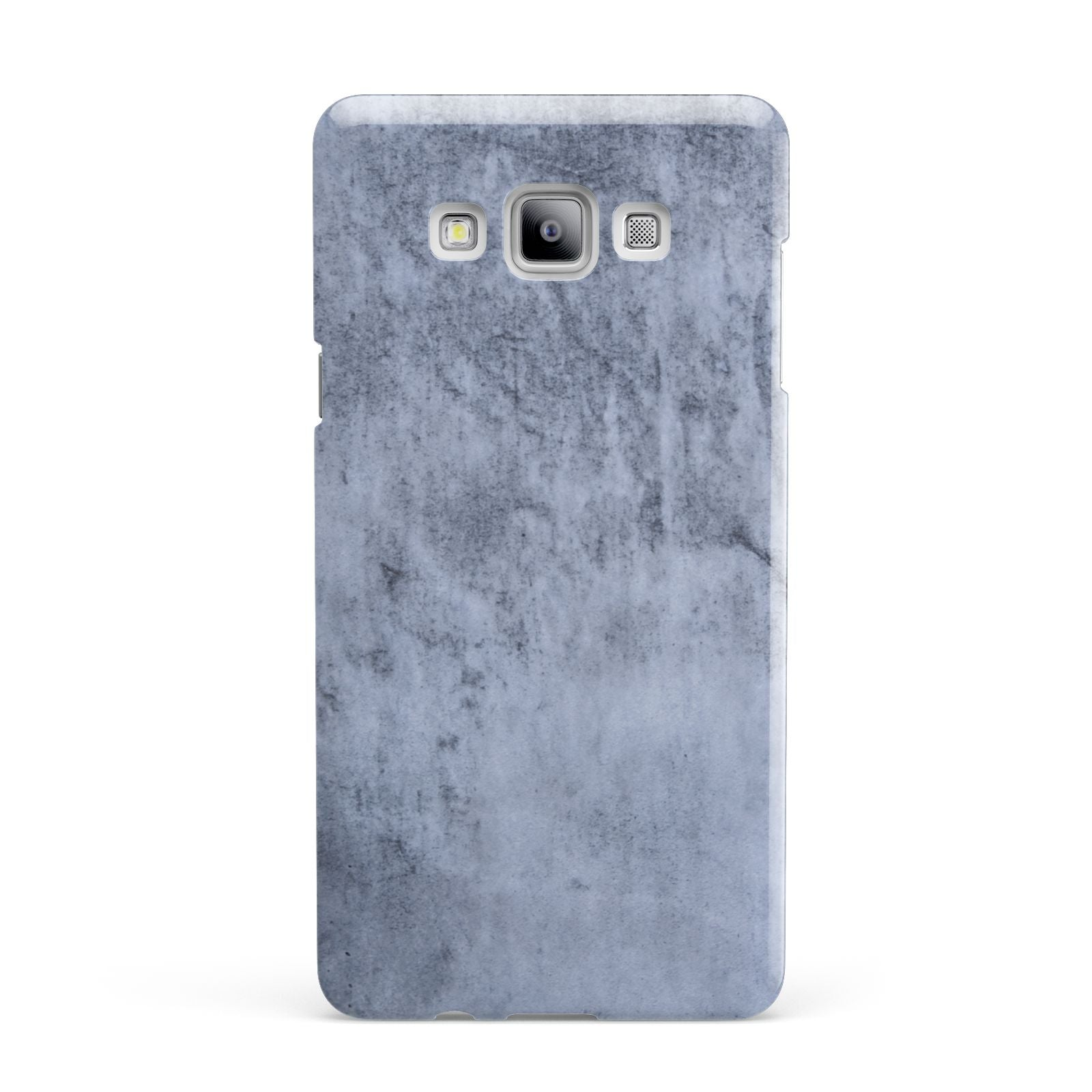 Faux Marble Dark Grey Samsung Galaxy A7 2015 Case