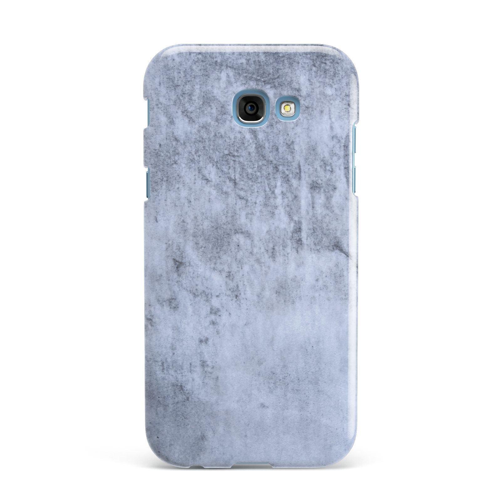 Faux Marble Dark Grey Samsung Galaxy A7 2017 Case