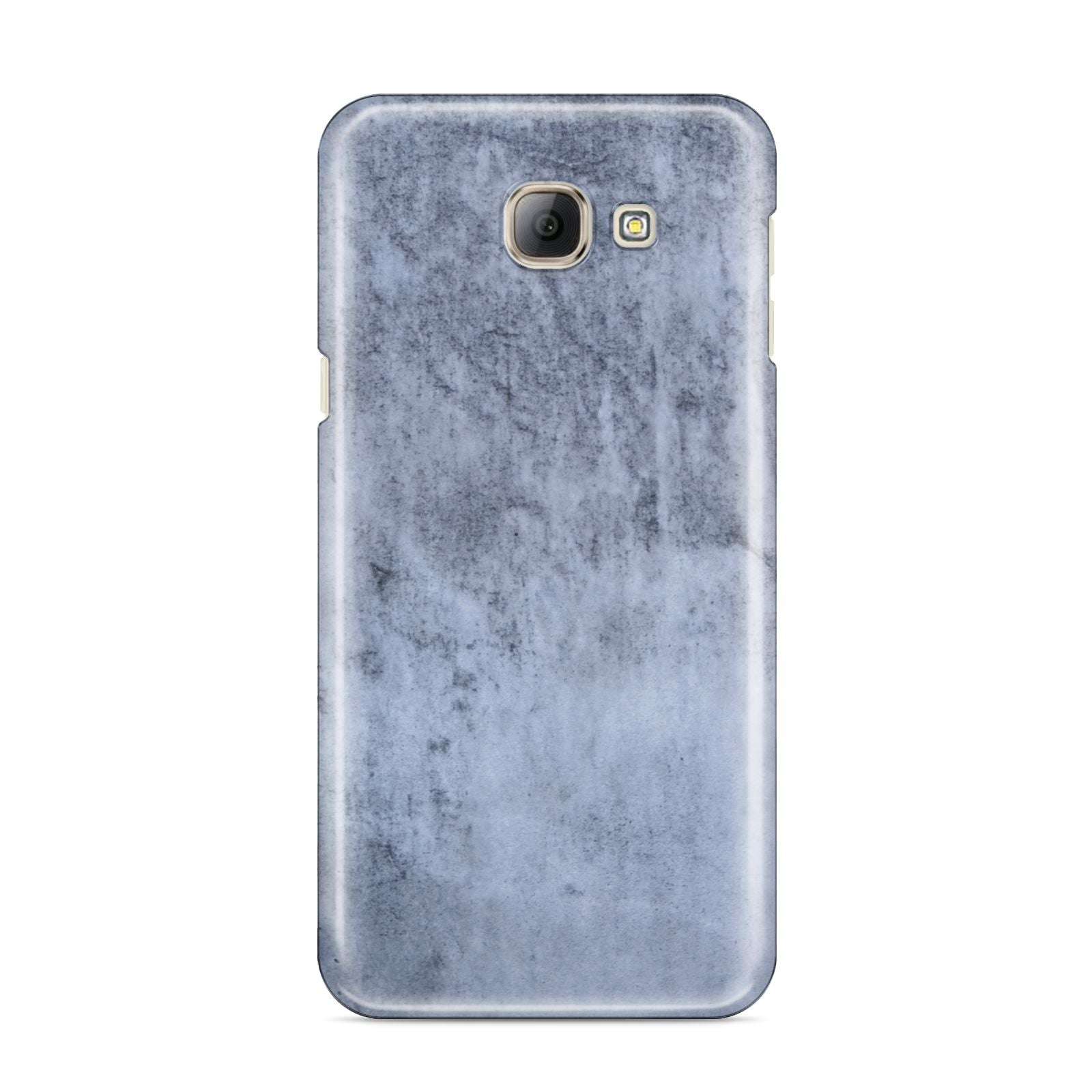 Faux Marble Dark Grey Samsung Galaxy A8 2016 Case