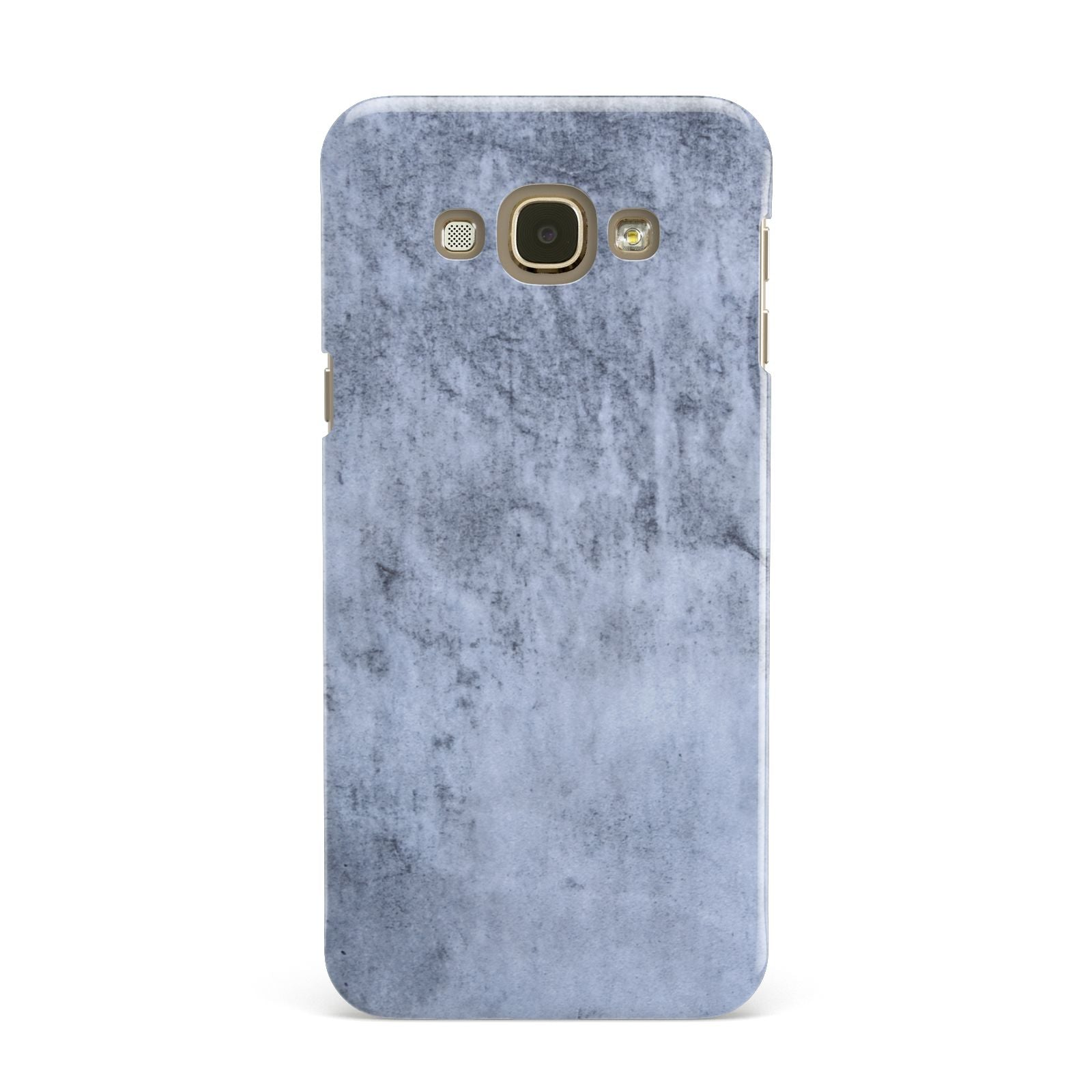 Faux Marble Dark Grey Samsung Galaxy A8 Case