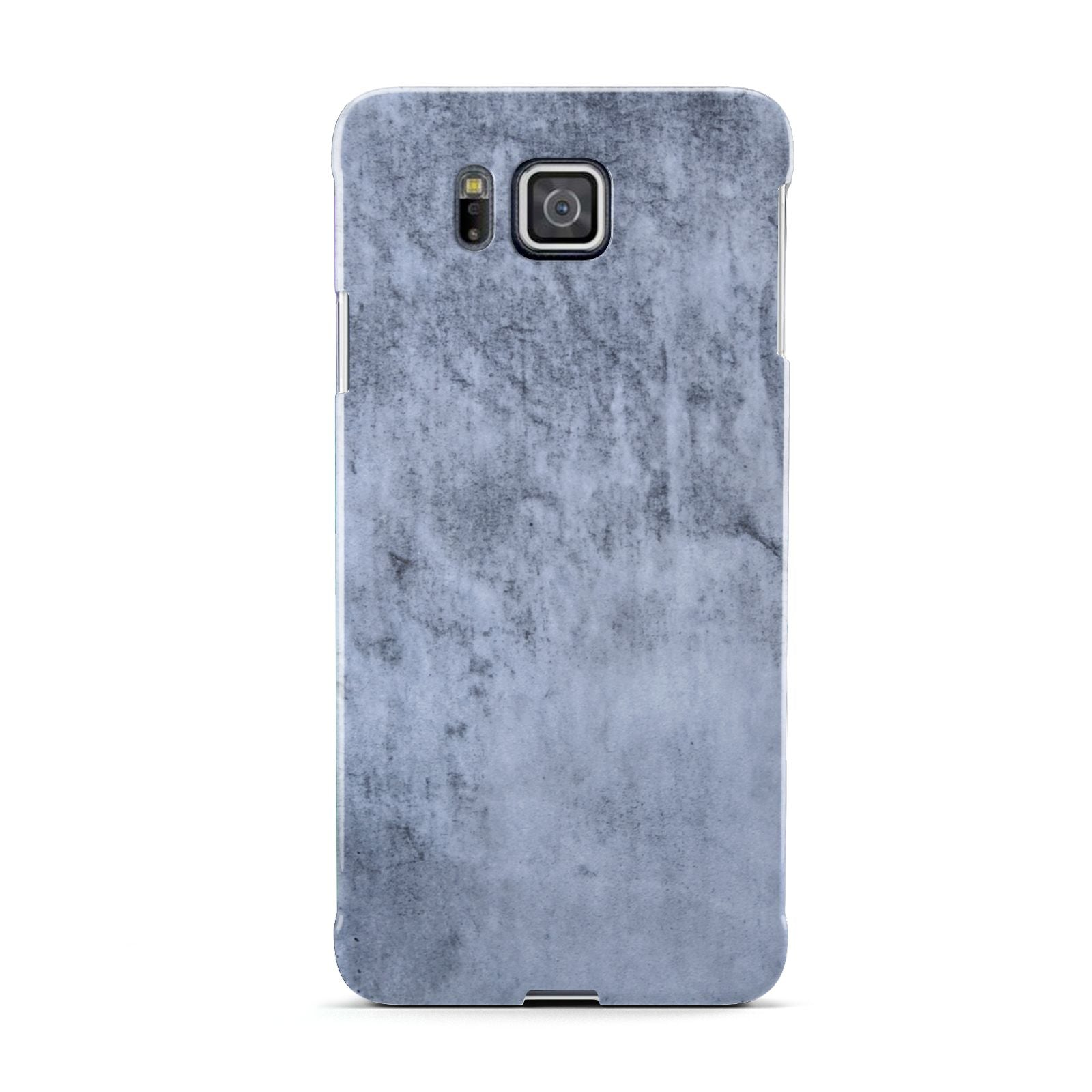Faux Marble Dark Grey Samsung Galaxy Alpha Case