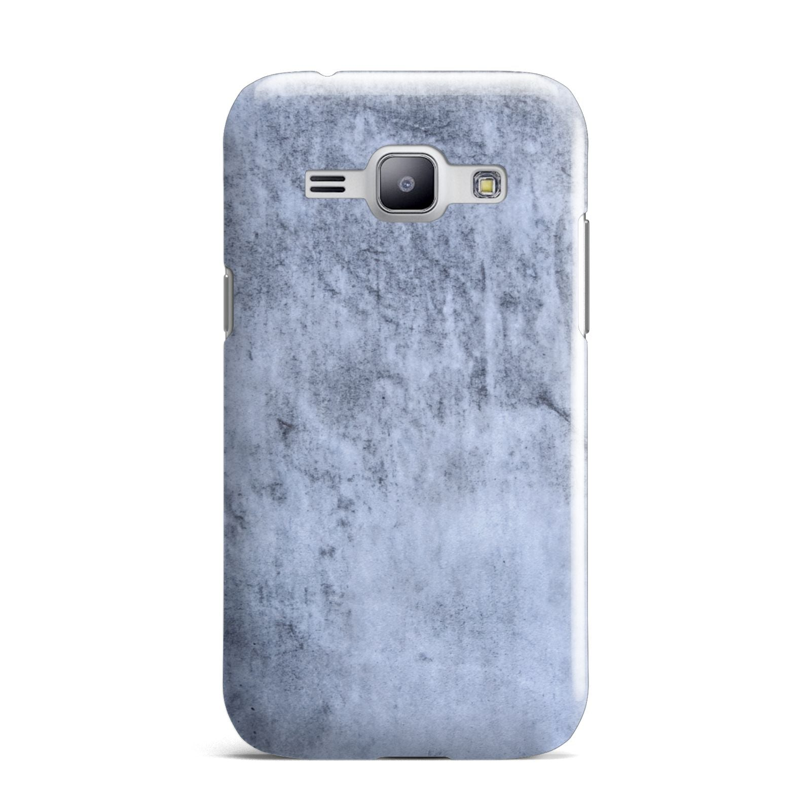 Faux Marble Dark Grey Samsung Galaxy J1 2015 Case