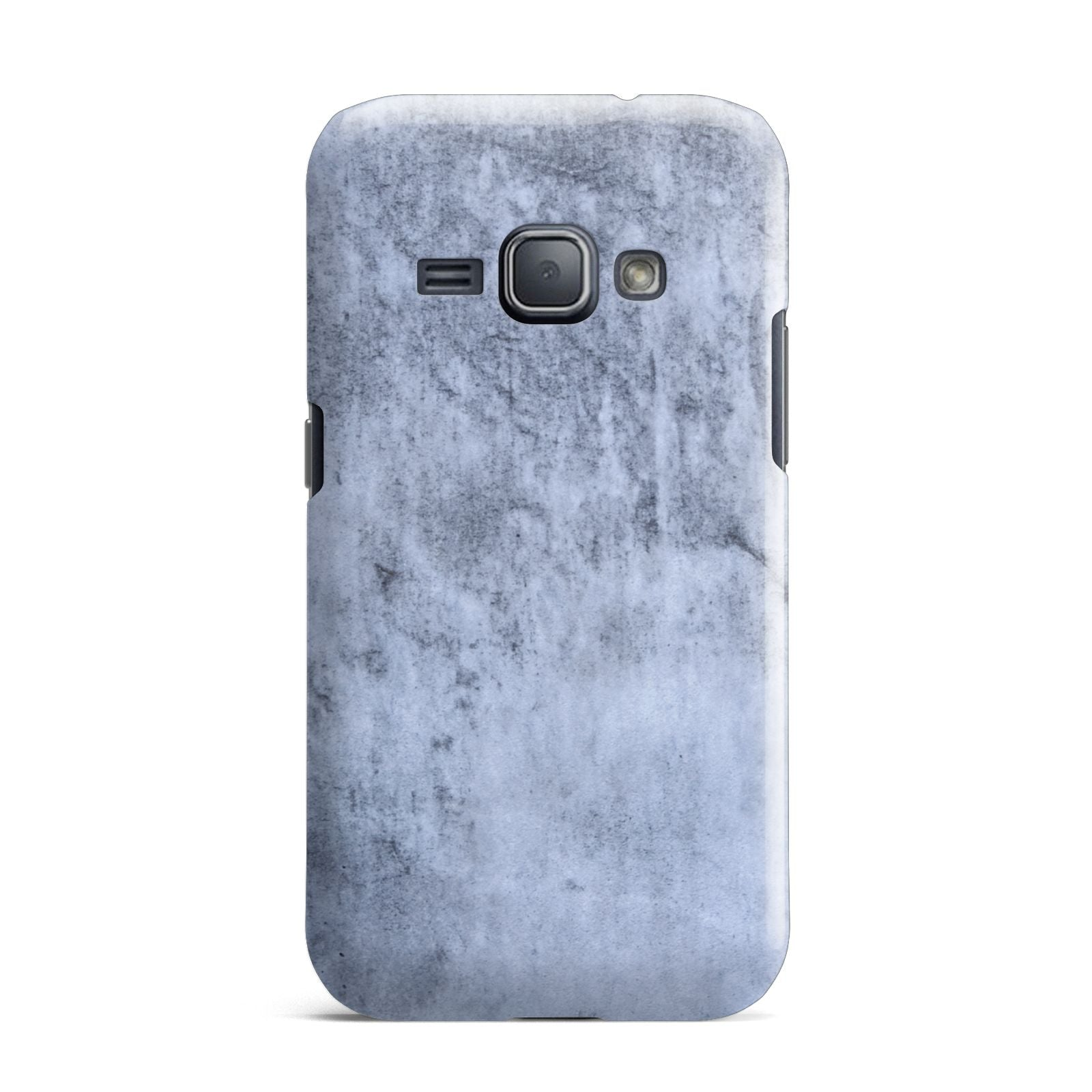 Faux Marble Dark Grey Samsung Galaxy J1 2016 Case