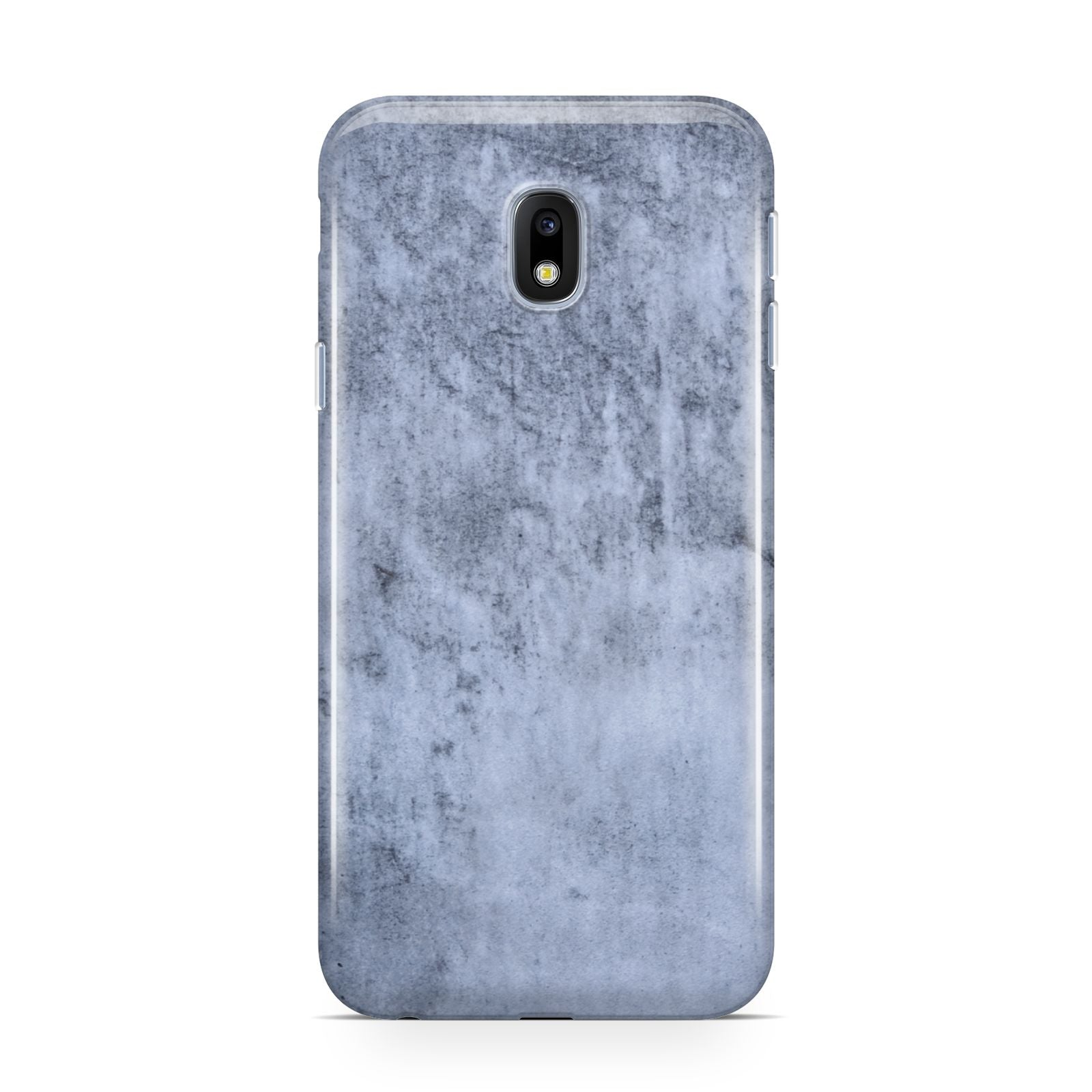 Faux Marble Dark Grey Samsung Galaxy J3 2017 Case