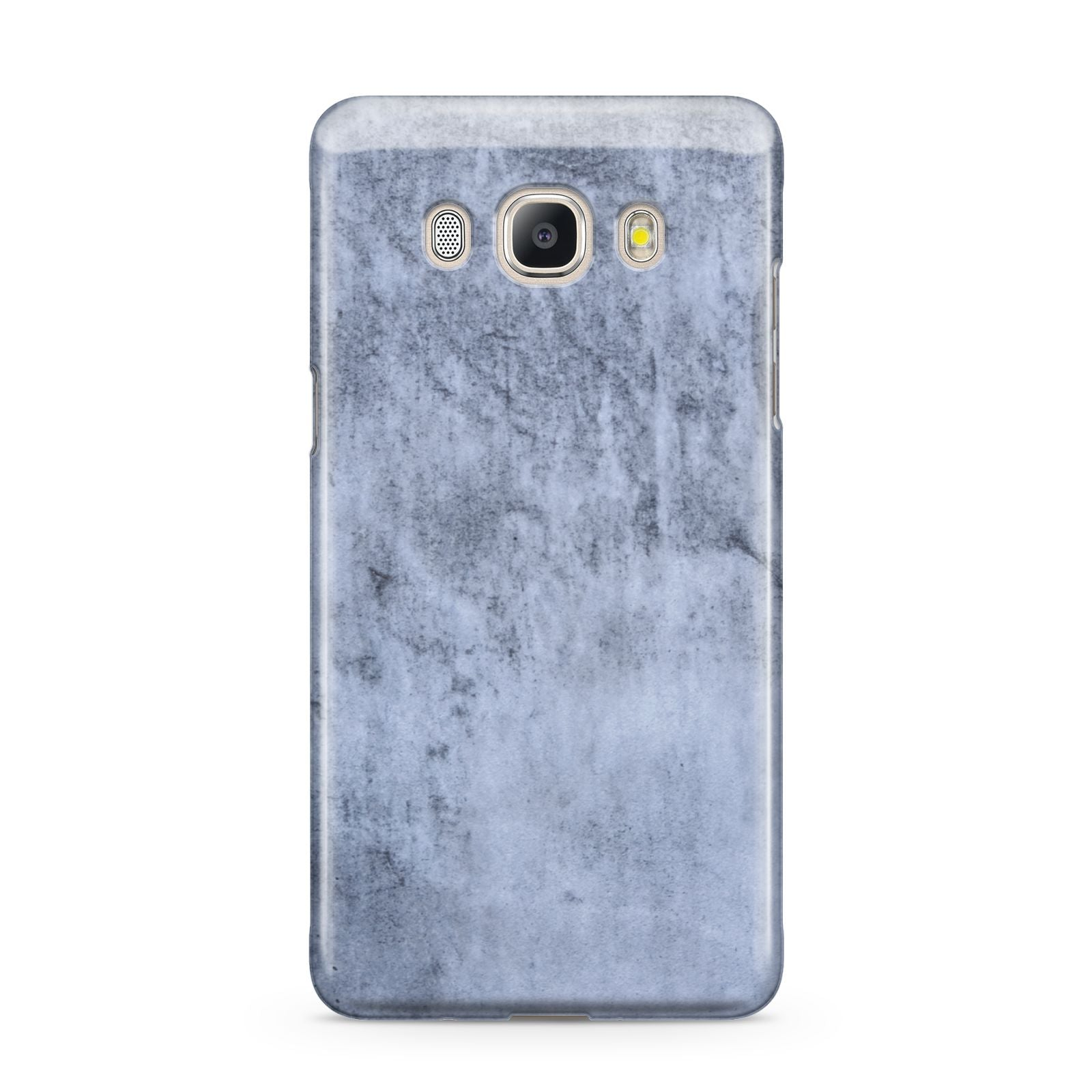 Faux Marble Dark Grey Samsung Galaxy J5 2016 Case