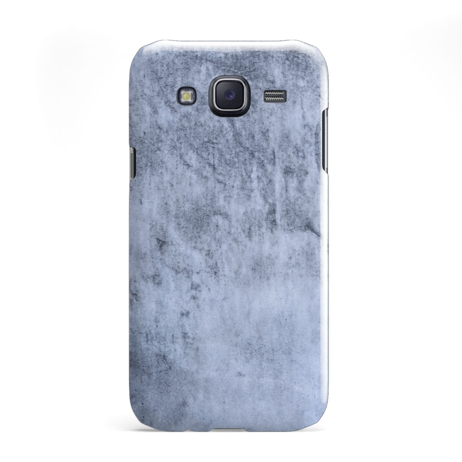 Faux Marble Dark Grey Samsung Galaxy J5 Case