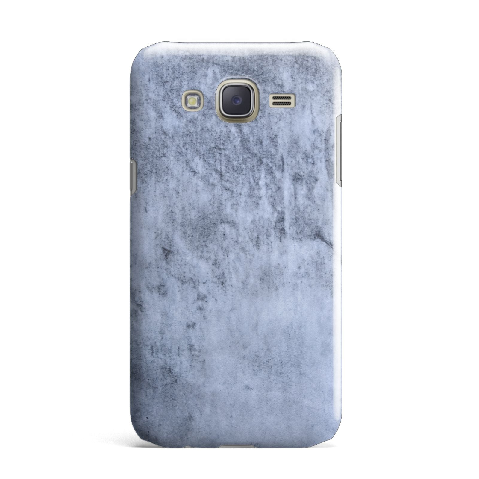 Faux Marble Dark Grey Samsung Galaxy J7 Case