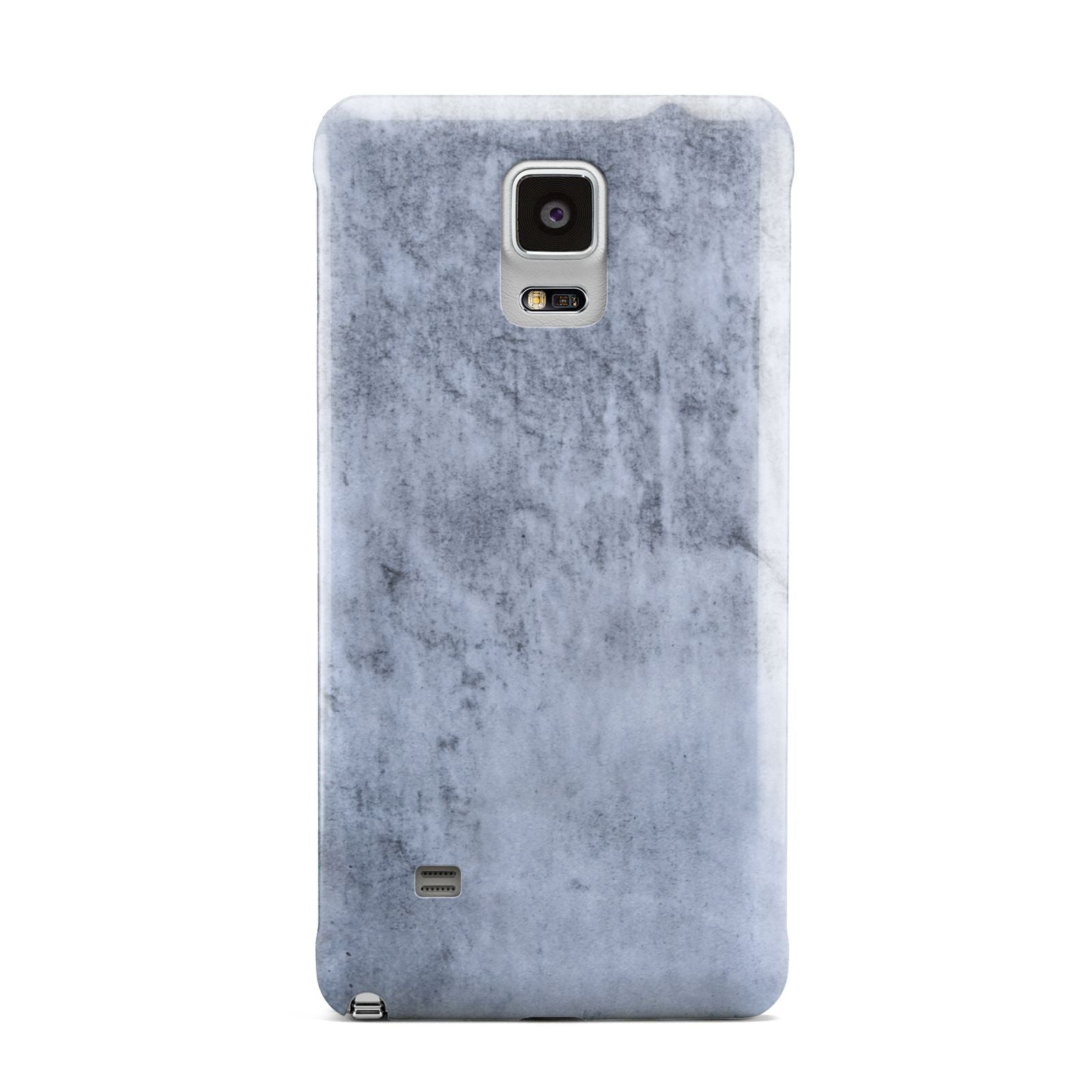 Faux Marble Dark Grey Samsung Galaxy Note 4 Case