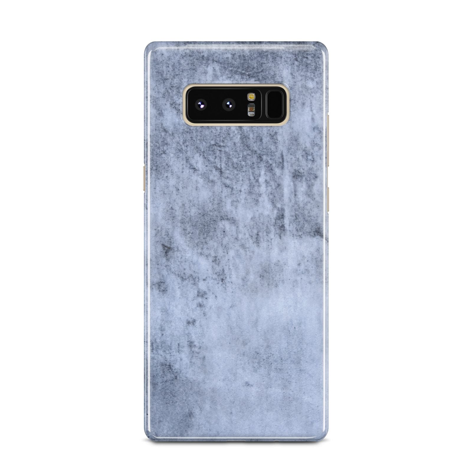 Faux Marble Dark Grey Samsung Galaxy Note 8 Case