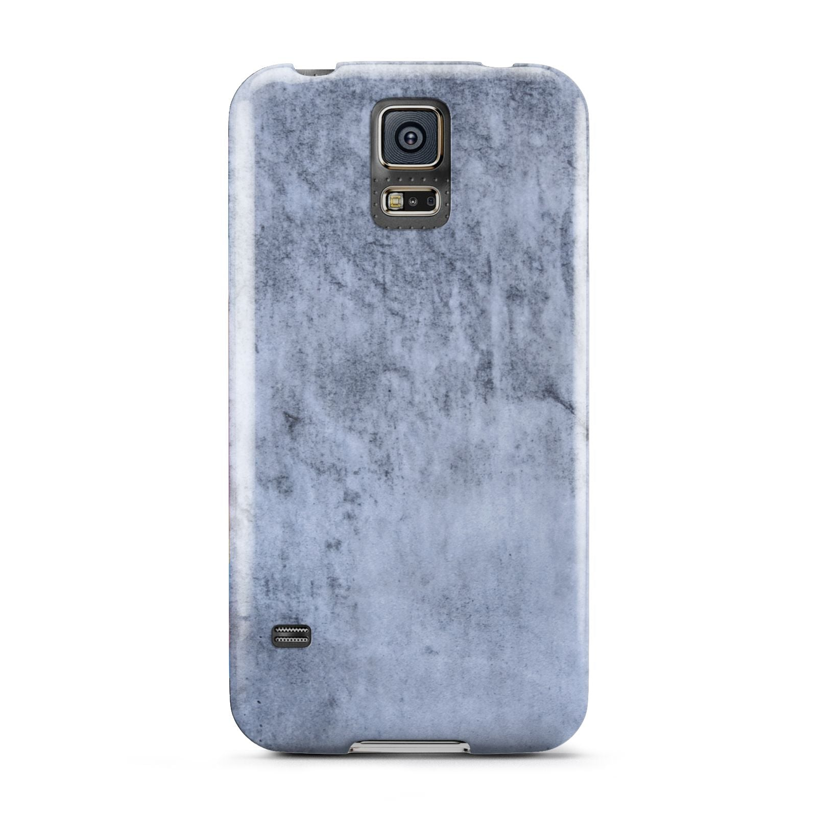 Faux Marble Dark Grey Samsung Galaxy S5 Case