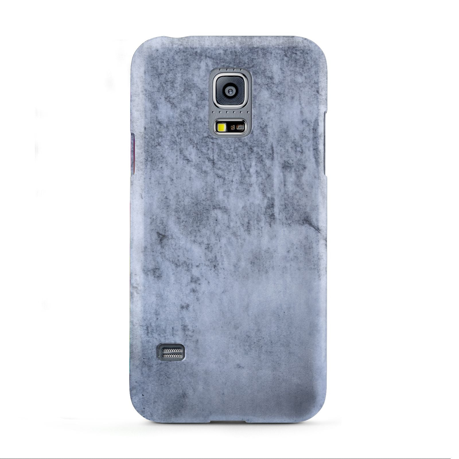 Faux Marble Dark Grey Samsung Galaxy S5 Mini Case