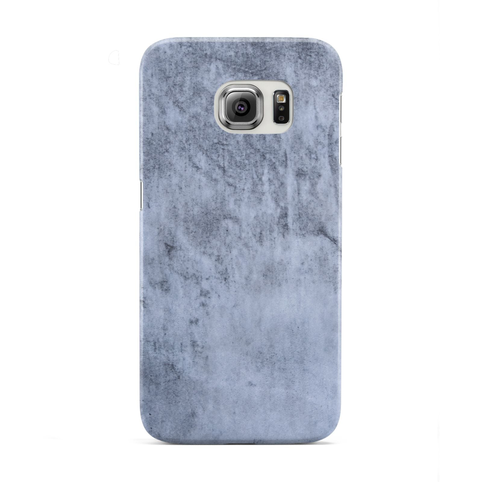 Faux Marble Dark Grey Samsung Galaxy S6 Edge Case