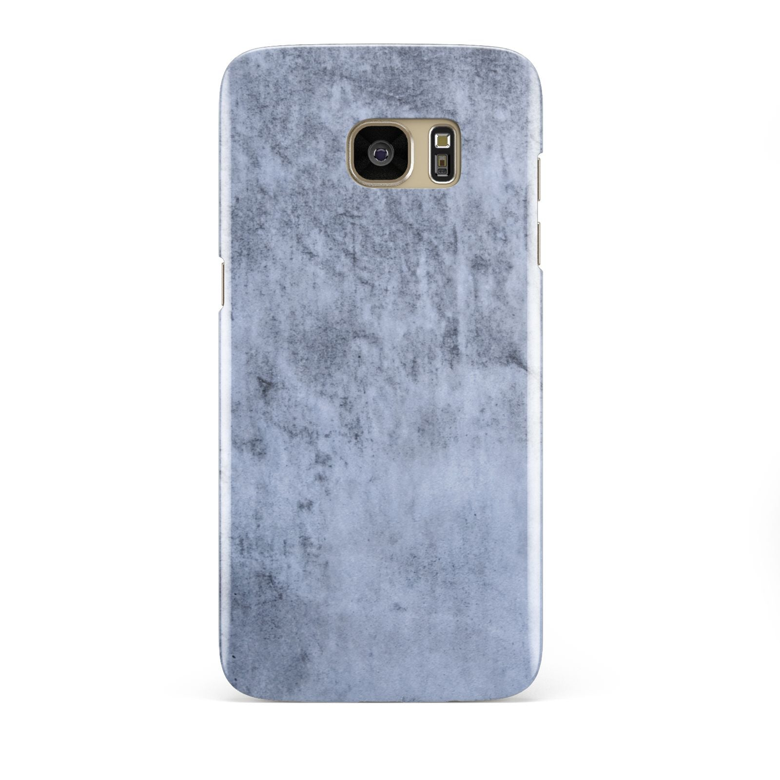 Faux Marble Dark Grey Samsung Galaxy S7 Edge Case