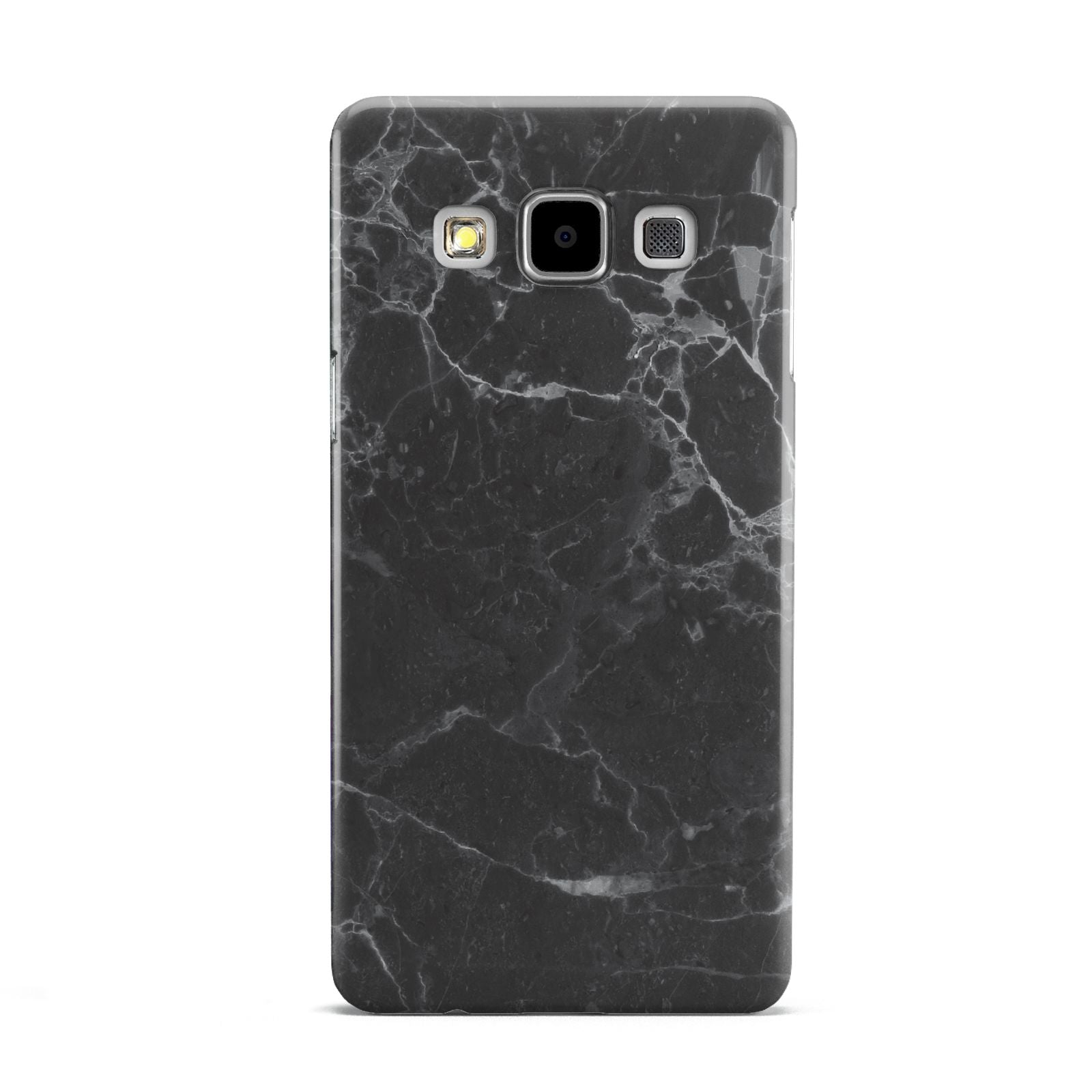 Faux Marble Effect Black Samsung Galaxy A5 Case