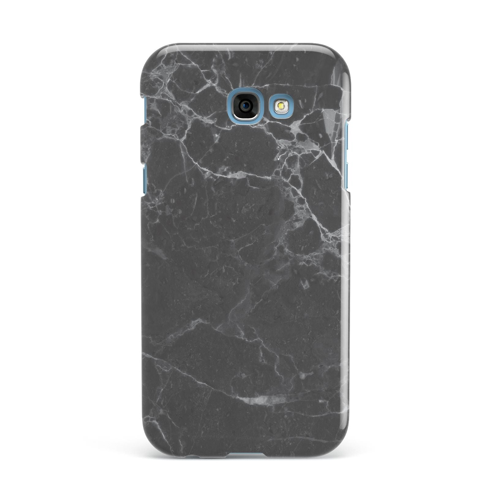 Faux Marble Effect Black Samsung Galaxy A7 2017 Case