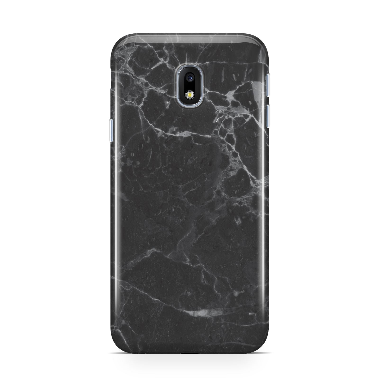 Faux Marble Effect Black Samsung Galaxy J3 2017 Case