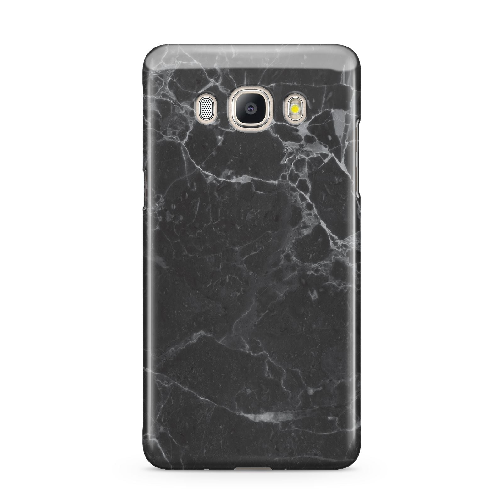 Faux Marble Effect Black Samsung Galaxy J5 2016 Case