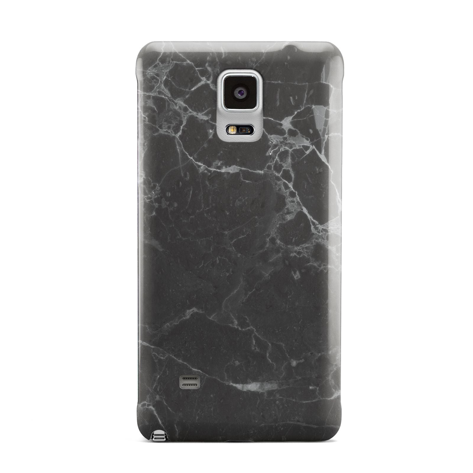 Faux Marble Effect Black Samsung Galaxy Note 4 Case
