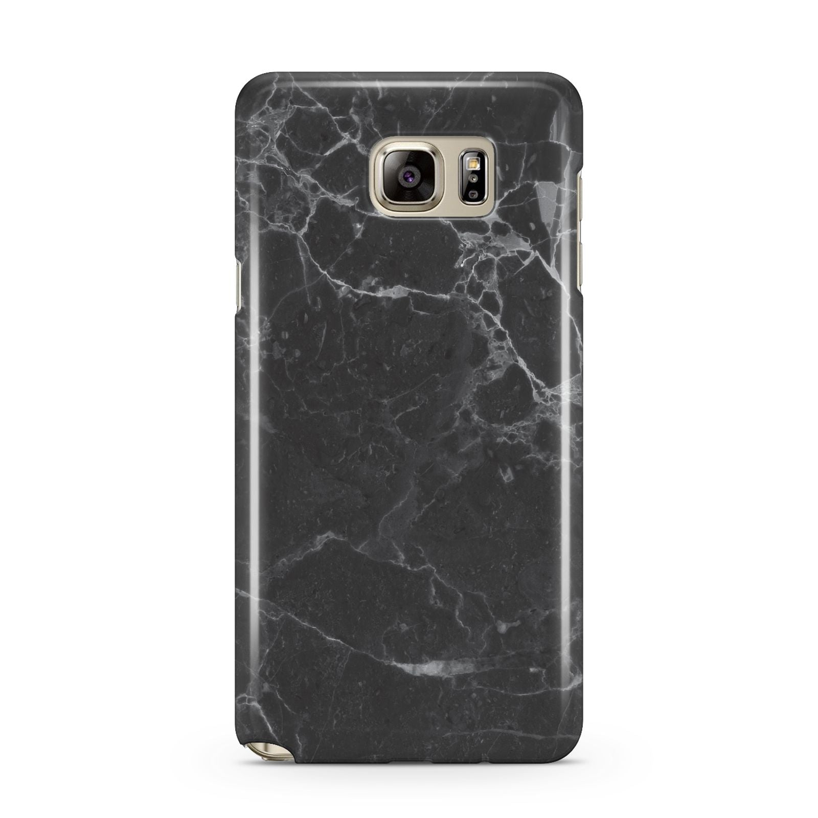 Faux Marble Effect Black Samsung Galaxy Note 5 Case