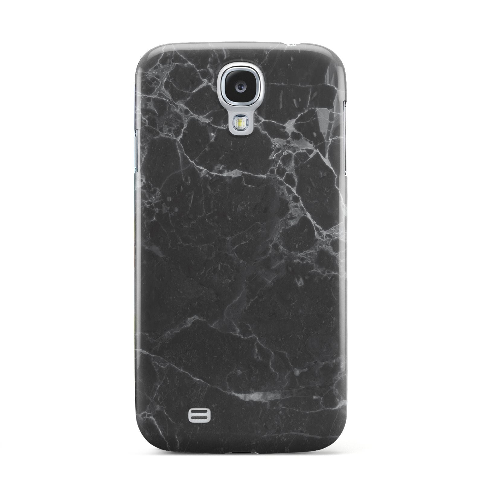 Faux Marble Effect Black Samsung Galaxy S4 Case
