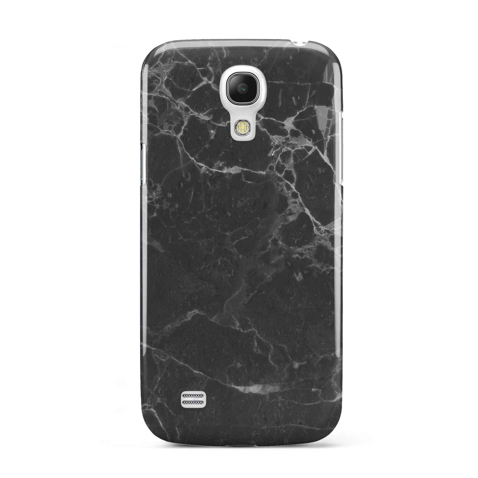 Faux Marble Effect Black Samsung Galaxy S4 Mini Case