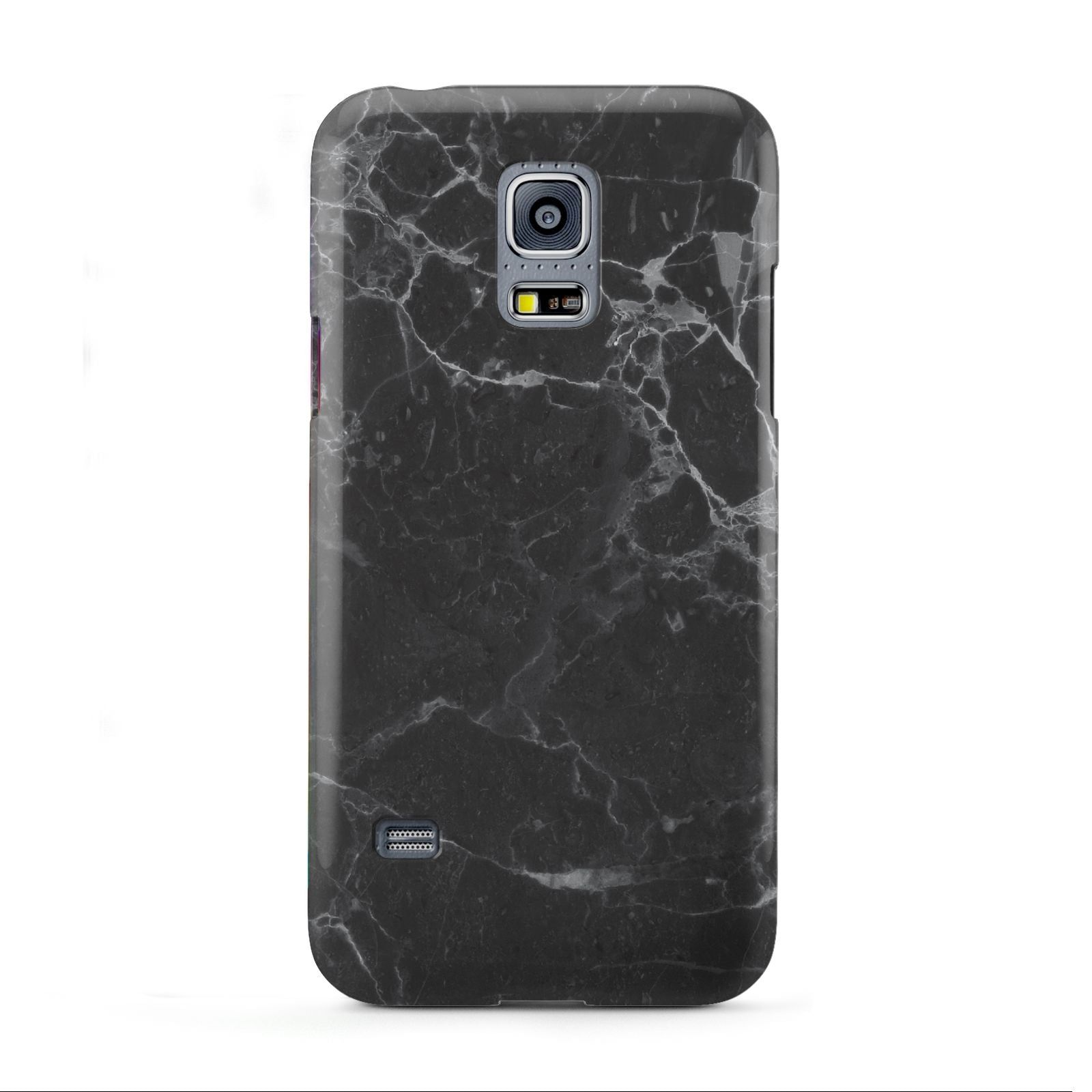 Faux Marble Effect Black Samsung Galaxy S5 Mini Case