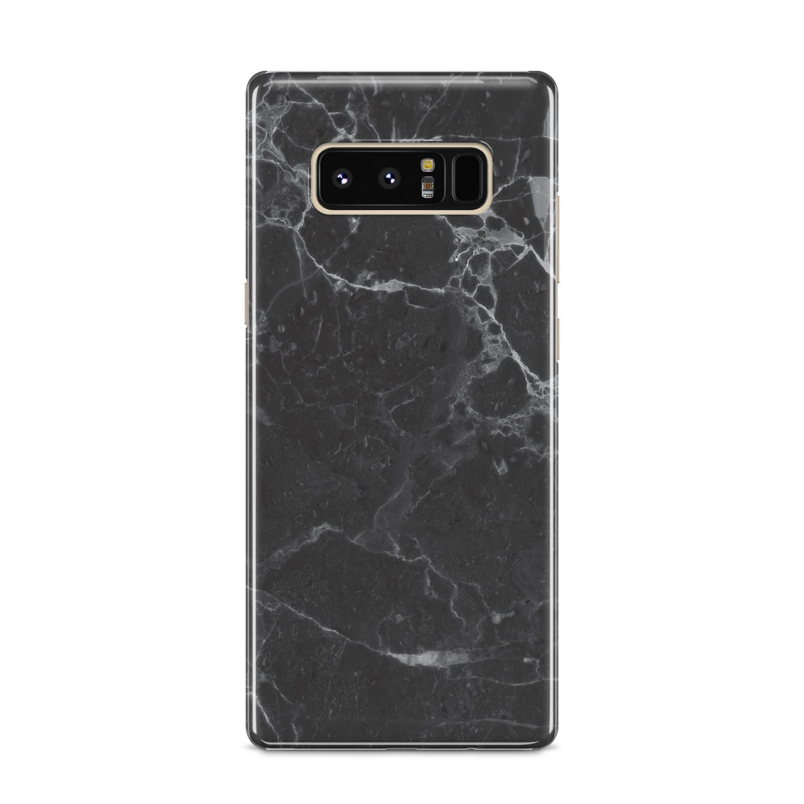 Faux Marble Effect Black Samsung Galaxy S8 Case