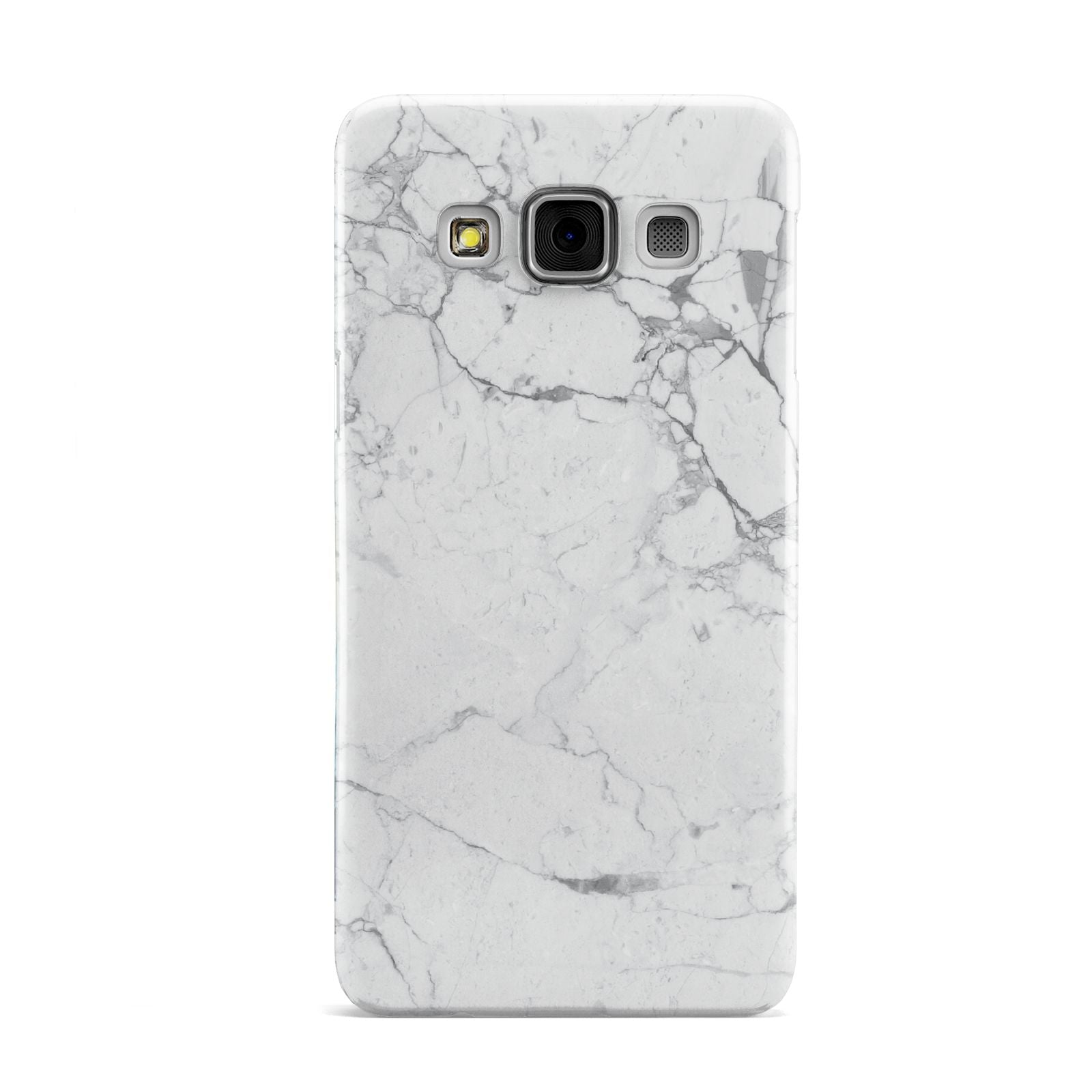 Faux Marble Effect Grey White Samsung Galaxy A3 Case