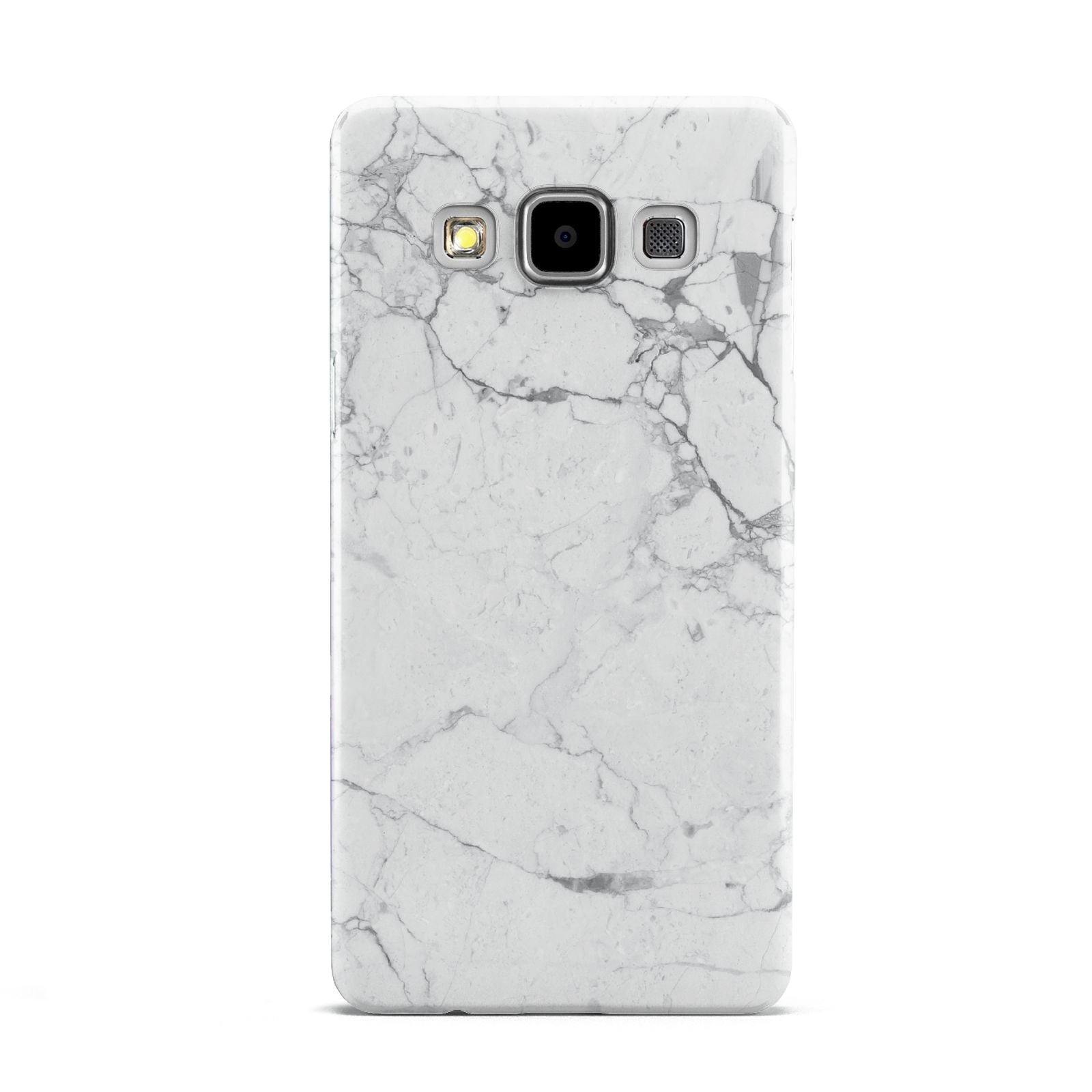 Faux Marble Effect Grey White Samsung Galaxy A5 Case