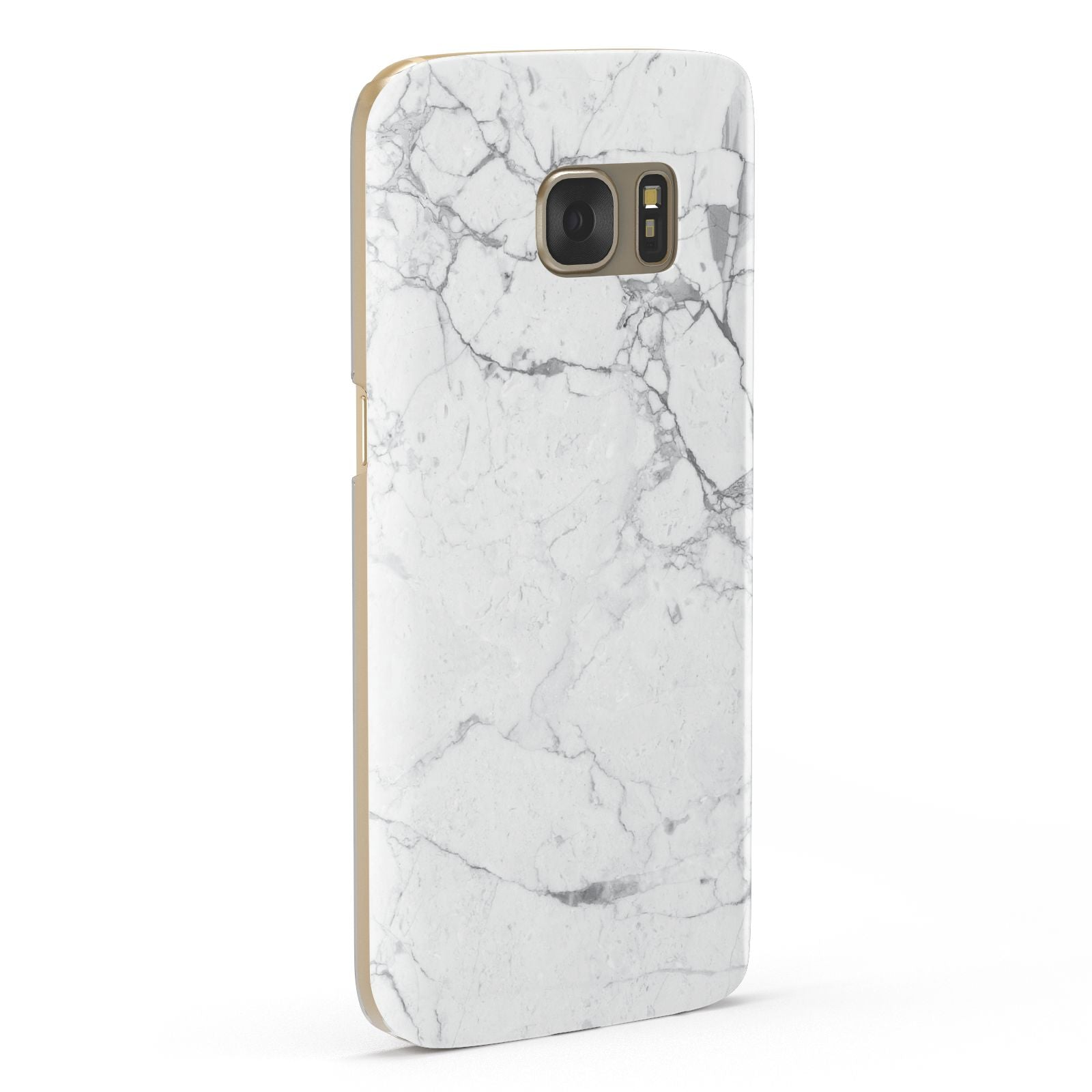 Faux Marble Effect Grey White Samsung Galaxy Case Fourty Five Degrees